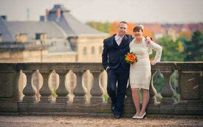 Sabrina und Stephan in Gotha